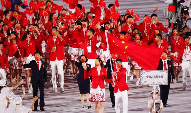 中国代表团38金32银18铜收官东京奥运